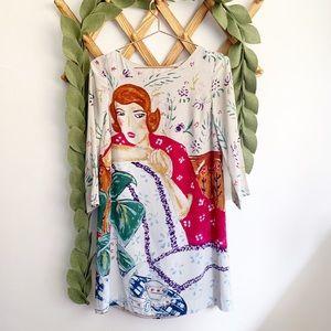 HD in Paris Zelda Shift Silk Dress